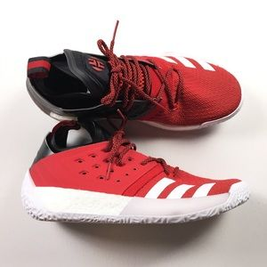Adidas Men's Red Basketball Shoes 12 ART AQ0402